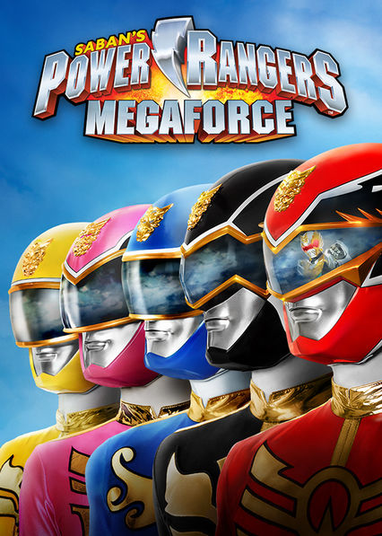 Power Rangers: Megaforce on Netflix USA