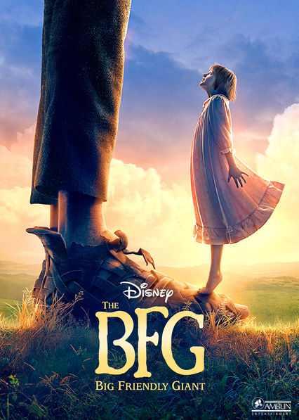 The BFG on Netflix USA