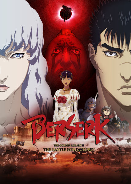Berserk: The Golden Age Arc II - The Battle for Doldrey on Netflix USA