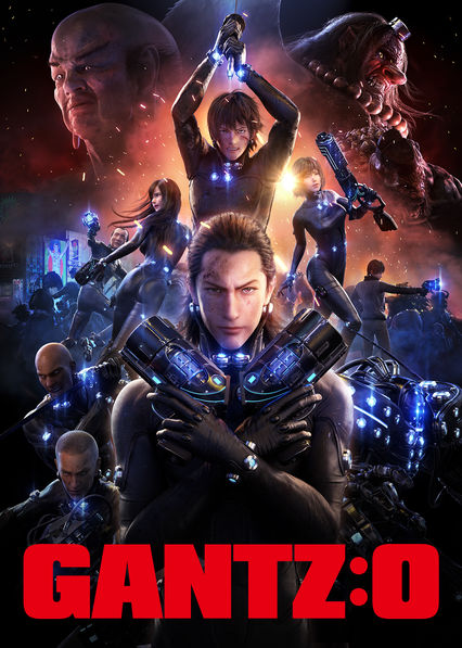 Gantz:O on Netflix USA
