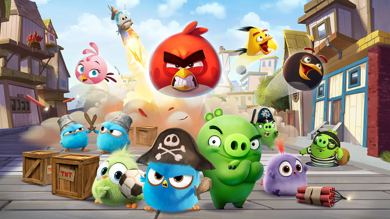 Angry Birds Toons Characters Eggs By Brunomilan13 On: Angry Birds
