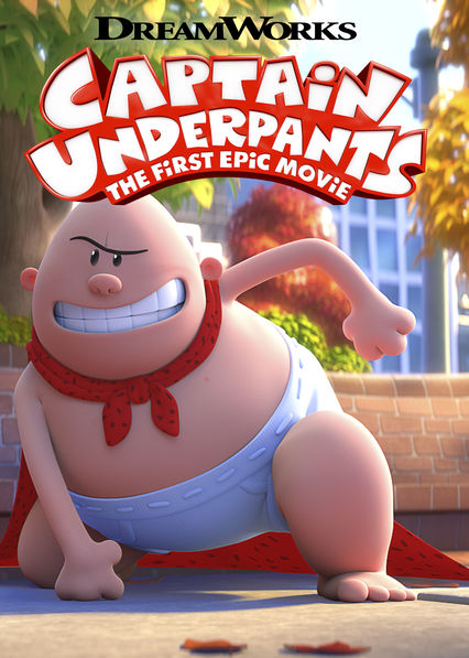 Captain Underpants: The First Epic Movie on Netflix USA