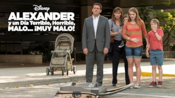 Alexander y un día terrible, horrible, malo... ¡muy malo! (2014)